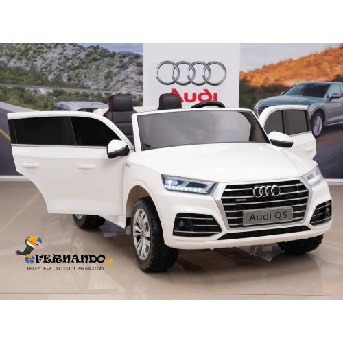 Auto na Akumulator Nowe Audi Q5 2-osobowe Białe 4x4