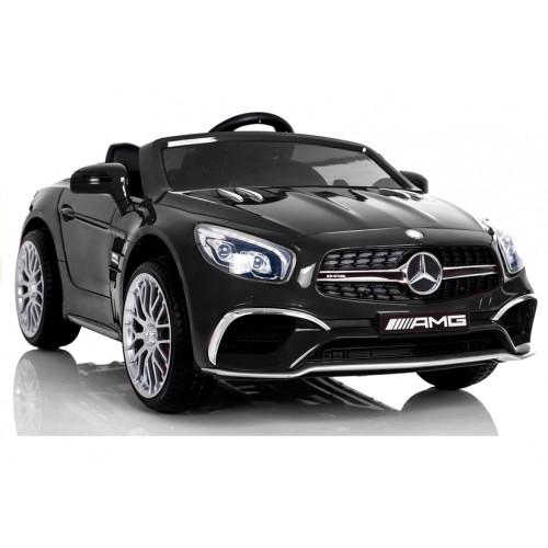 Pojazd na Akumulator Auto Mercedes SL65 LCD Czarny
