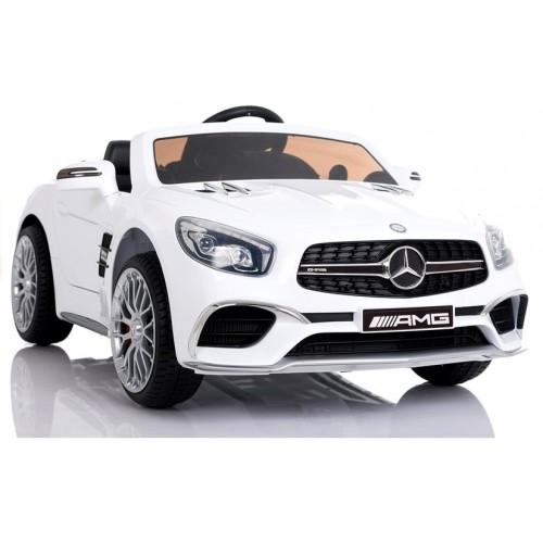 Pojazd na Akumulator Auto Mercedes SL65 LCD Biały