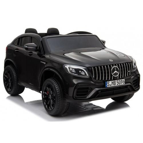 Auto na Akumulator Mercedes GLC 63S Czarny 4x4 Amortyzatory