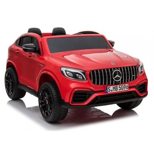Auto na Akumulator Mercedes GLC 63S Czerwony Lakierowany 4x4 Amortyzatory