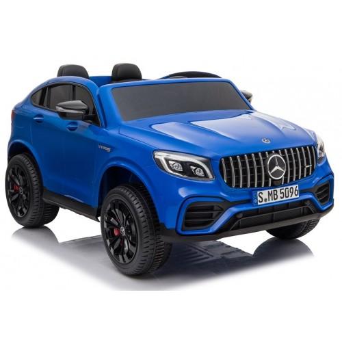 Auto na Akumulator Mercedes GLC 63S Niebieski Lakierowany 4x4 Amortyzatory
