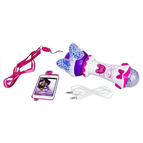 Bajkowy Mikrofon Karaoke Dla Małej Piosenkarki MP3